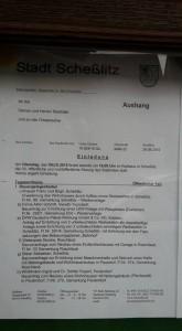 33. Stadtratssitzung