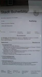34. Stadtratssitzung
